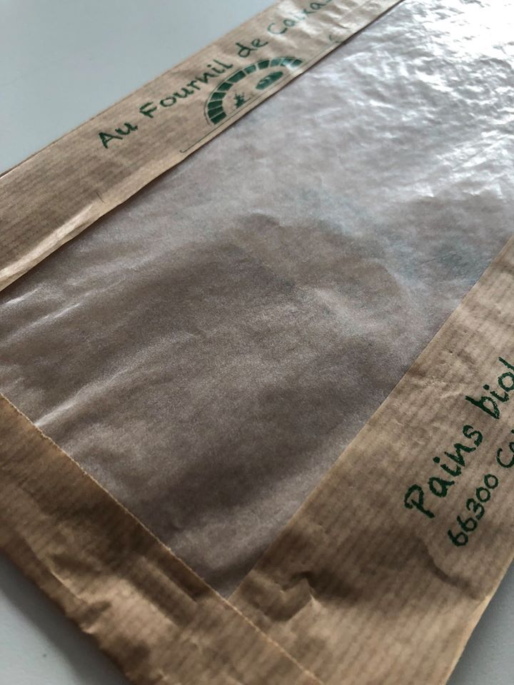 SAC KRAFT FENETRE BIODEGRADABLE